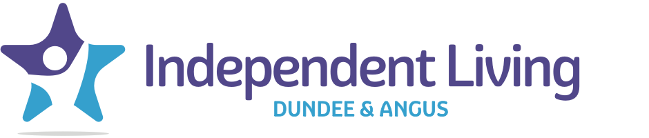 Independent Living Dundee & Angus Logo